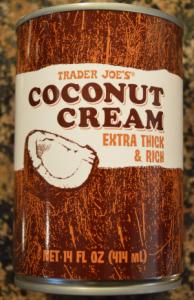 coconut cream dairy free vegan