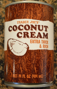 coconut cream dairy free vegan