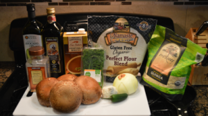 Organic ~ Gluten Free ~ Dairy Free ~ Vegan ~ Portobello Stroganoff
